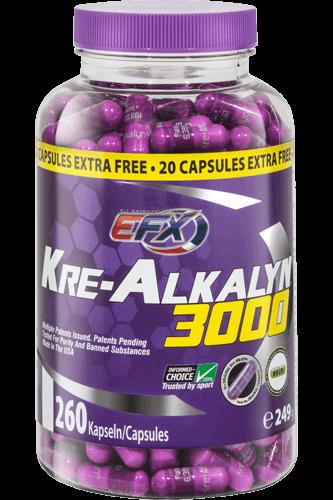 EFX Kre-Alkalyn 3000 - 260 Kapsel