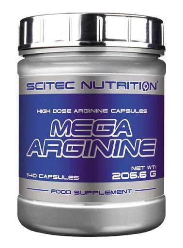 Scitec Mega Arginine 140 Kapsel