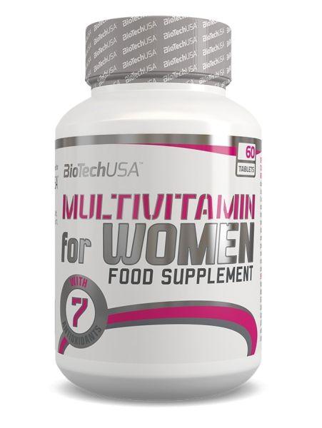 BioTech Multivitamin für Frauen 60 Tabl.