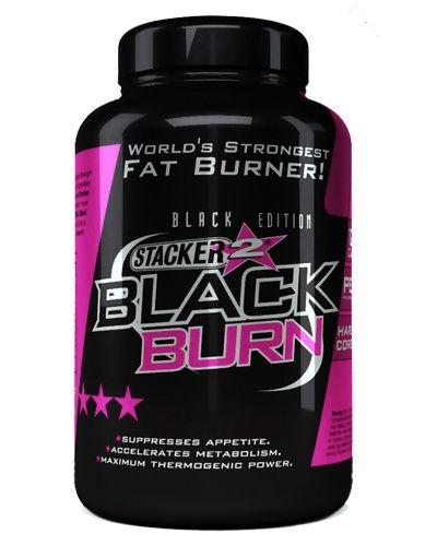 Stacker2 Black Burn Fatburner - 120 Kapsel