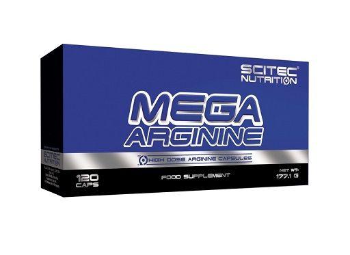 Scitec Mega Arginine 120 Kapsel