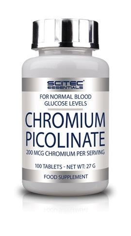 Scitec Chromium Picolinate 100 Tabletten