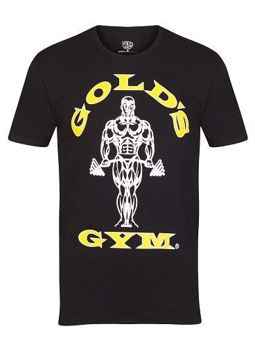 Gold´s Gym GGTS002 Muscle Joe T-Shirt - black