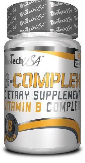 BioTech Vitamin B - 60 Tabl.