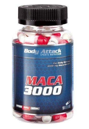 Body Attack Maca 3000 - 90 Caps