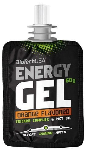 BioTech Energy Gel 24x 60g Orange