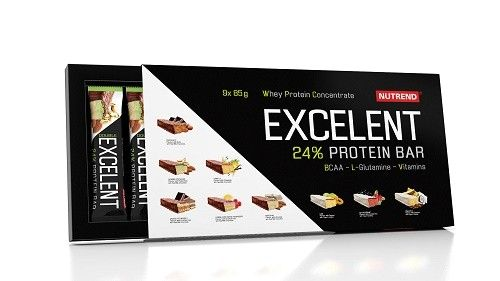 Nutrend Excelent Protein Bar Set 9x 85g - mixed Flavours