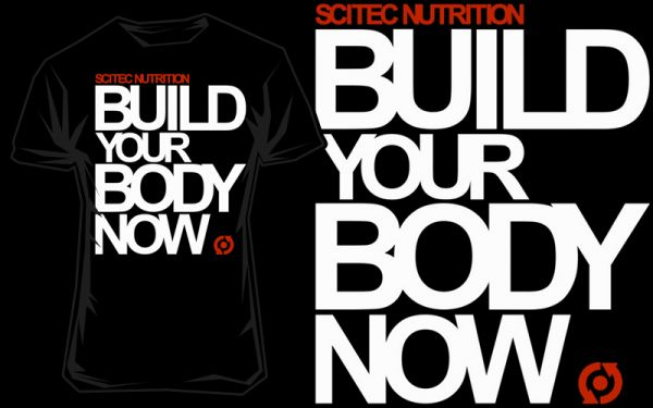 Scitec T-Shirt Build