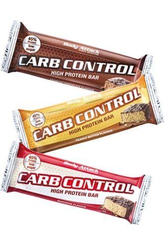 Body Attack Carb Control - Proteinriegel 100g (15 Riegel)