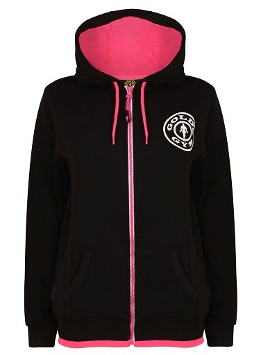 Gold´s Gym GGLSWT017 -Ladies Zip Hoodie