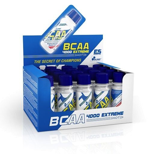 Olimp BCAA 4000 Extreme Shot orange 20x60ml